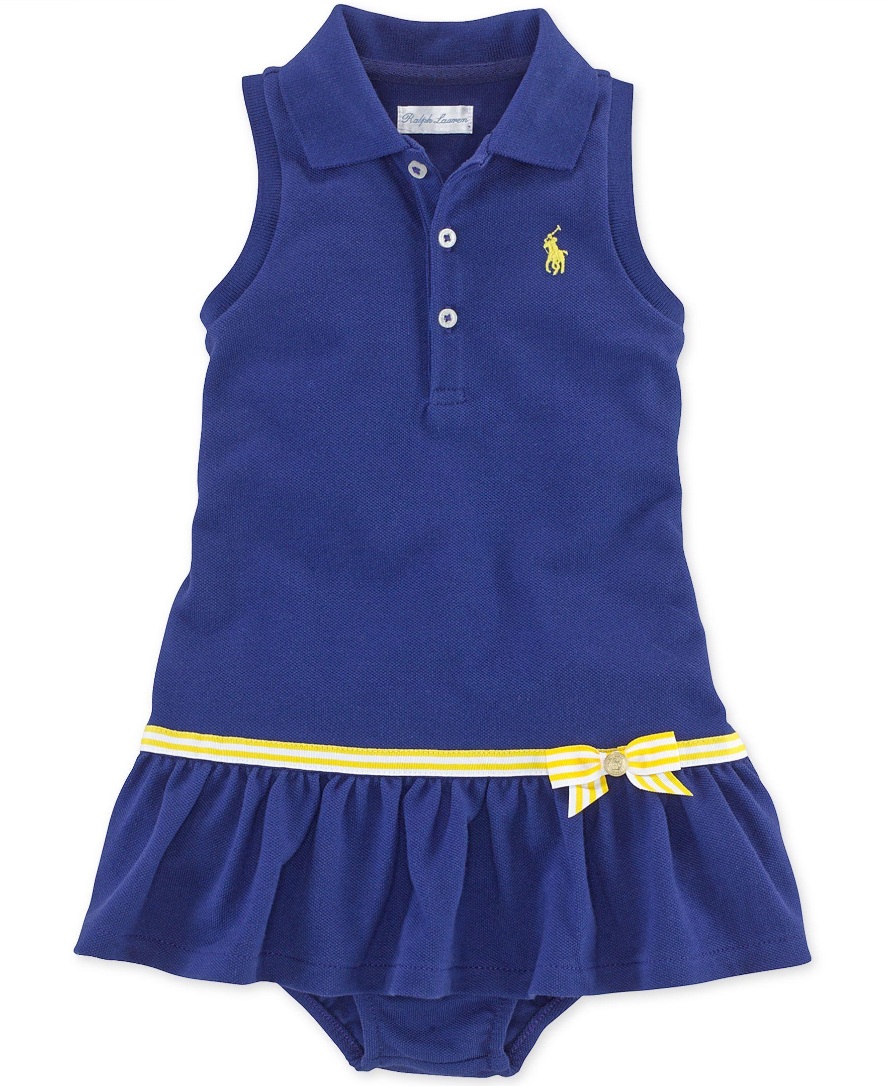 Ralph Lauren Baby Girls Polo Dress GIRLS Pinterest