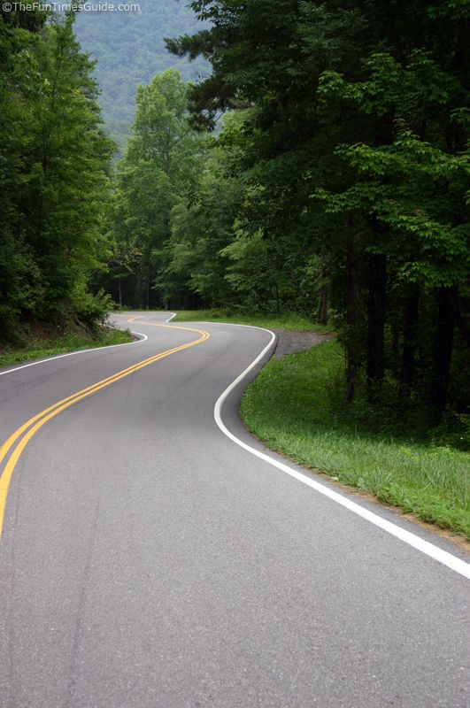 Tail Of The Dragon - see what this deadly stretch of road is like for Jeep drivers and motorcycle riders!