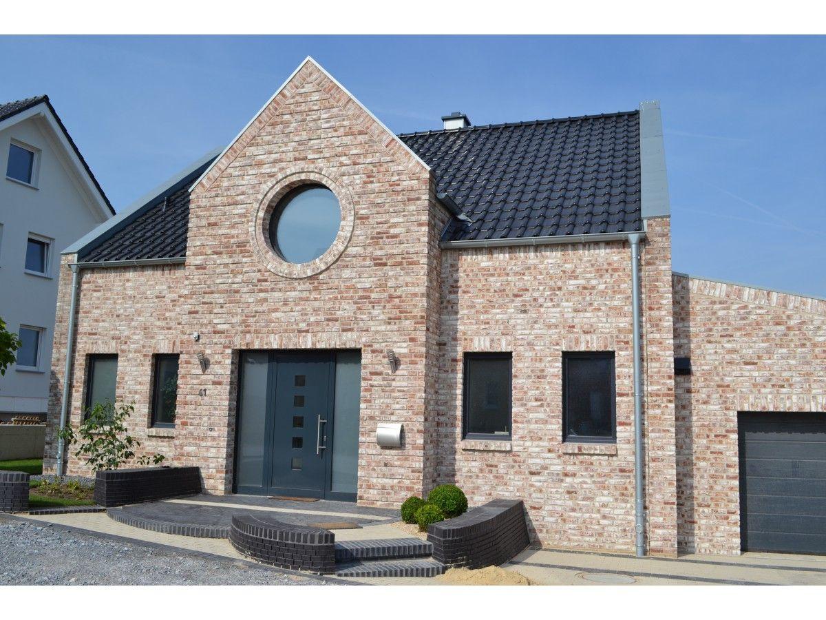 Handform Riemchen K480R Häuser klinker, Fassade klinker