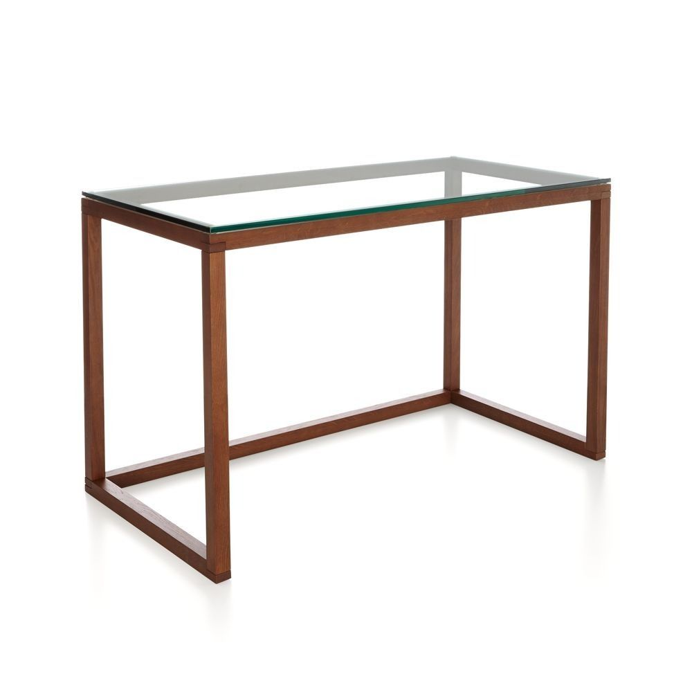 Incognito Ebony Compact Office Desk Crate Barrel Home Office Space Furniture Home
