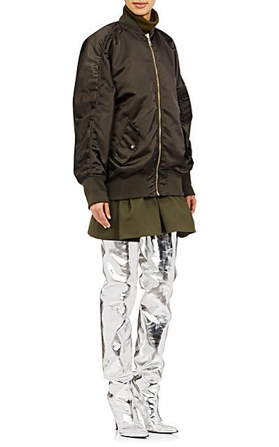 Balenciaga Reversible Bomber Jacket - Statement - Barneys.com