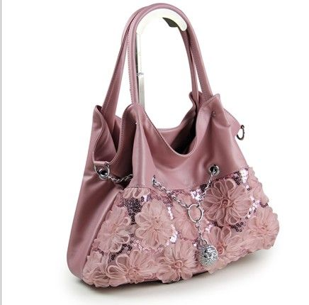 Handtas Cecina roze - Damestassen - Vamoda online fashion