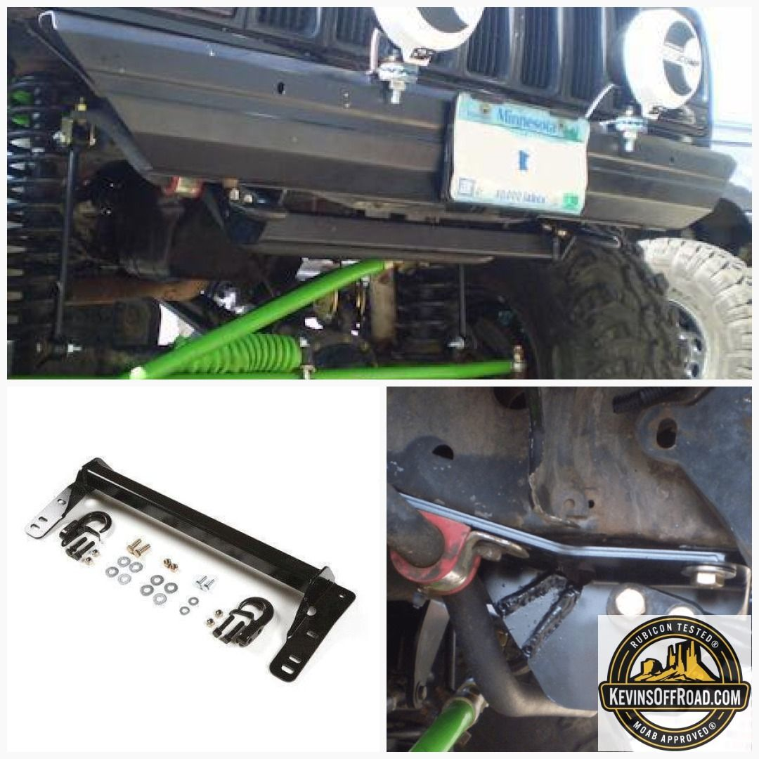 Xj Front Tow Hook Mount Jeep Gear Towing Jeep Parts