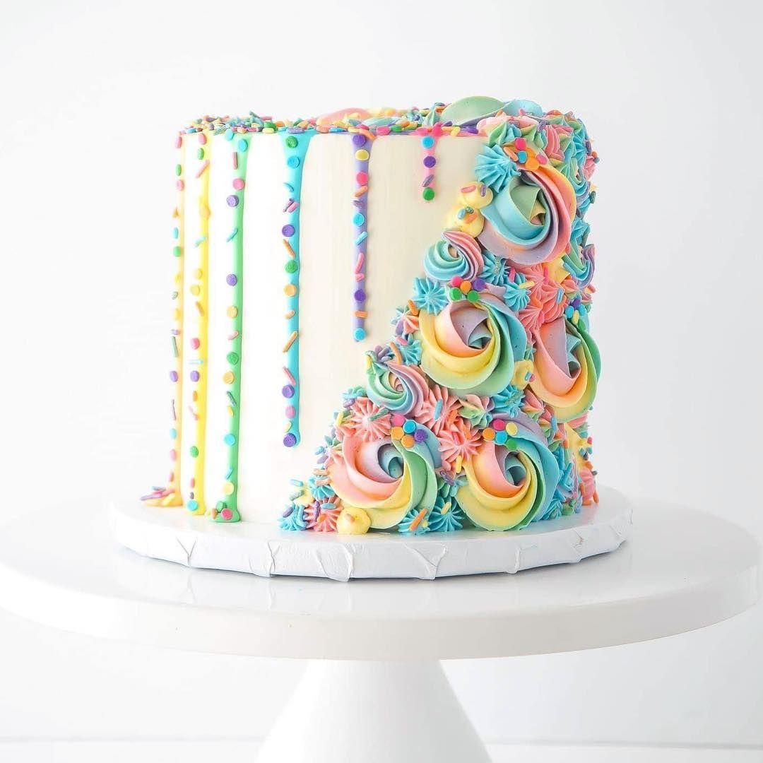 The Best Dessert Trends Of 2020 Wilton Rainbow Birthday Cake Birthday Cake Decorating Rainbow Cake