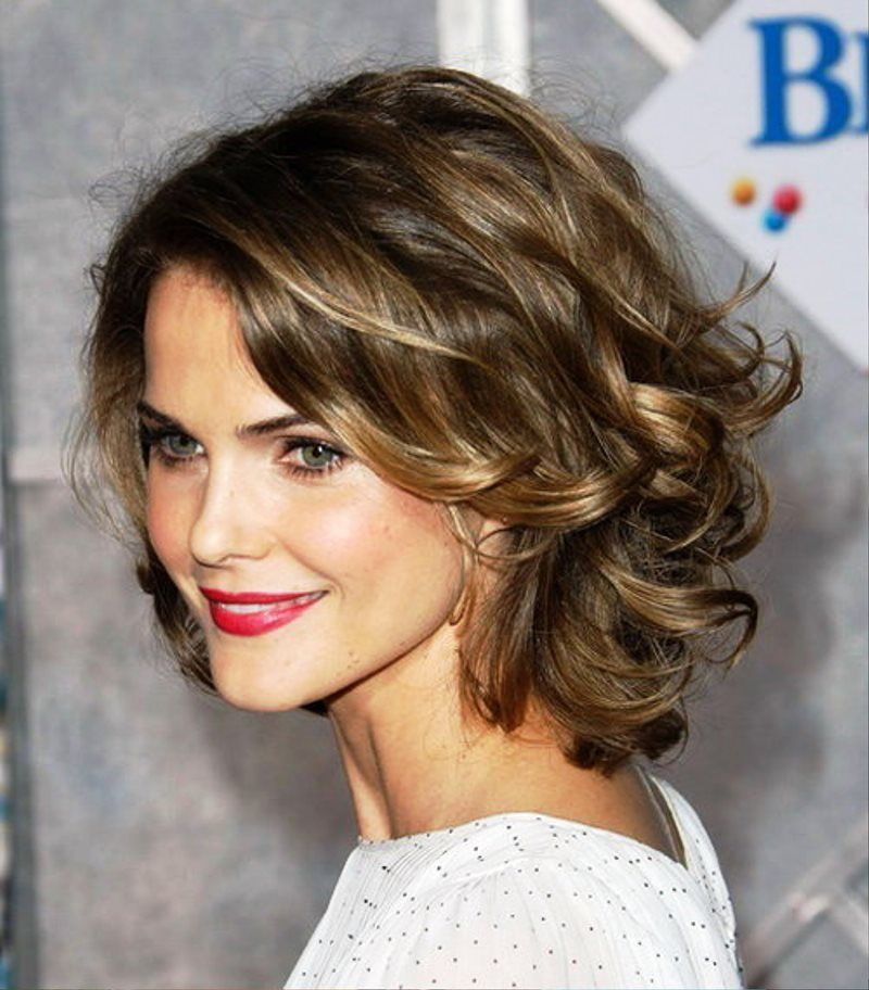 Wavy Hairstyles For Medium Thick Hair Naturally Wavy Girl