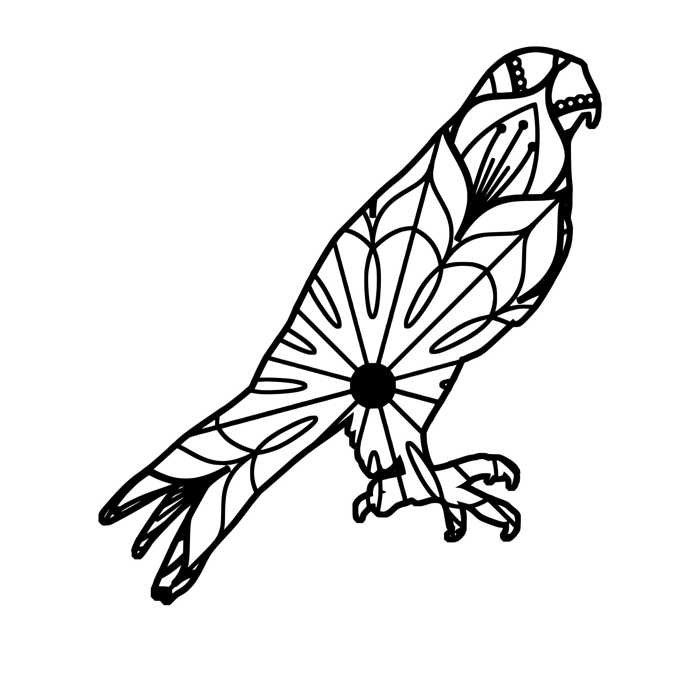 Peregrine Falcon Mandala Peregrine Falcon Mandala Svg