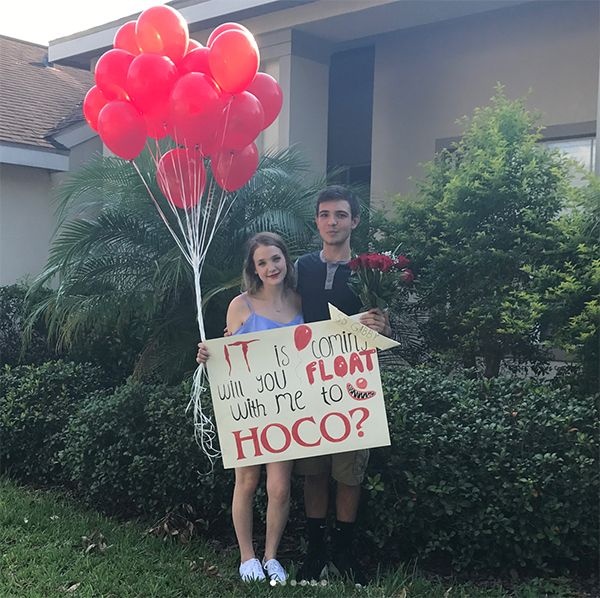 Homecoming Proposal Ideas