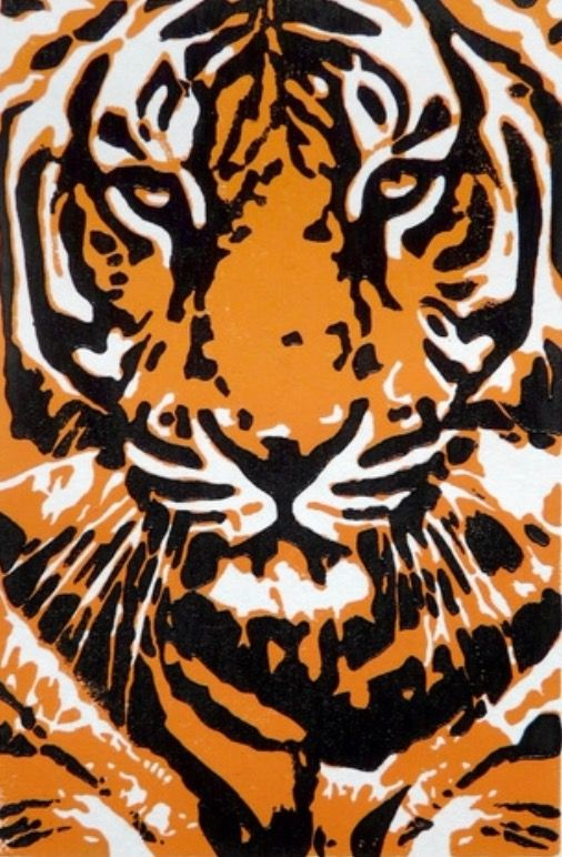 Cool Tiger Artwork