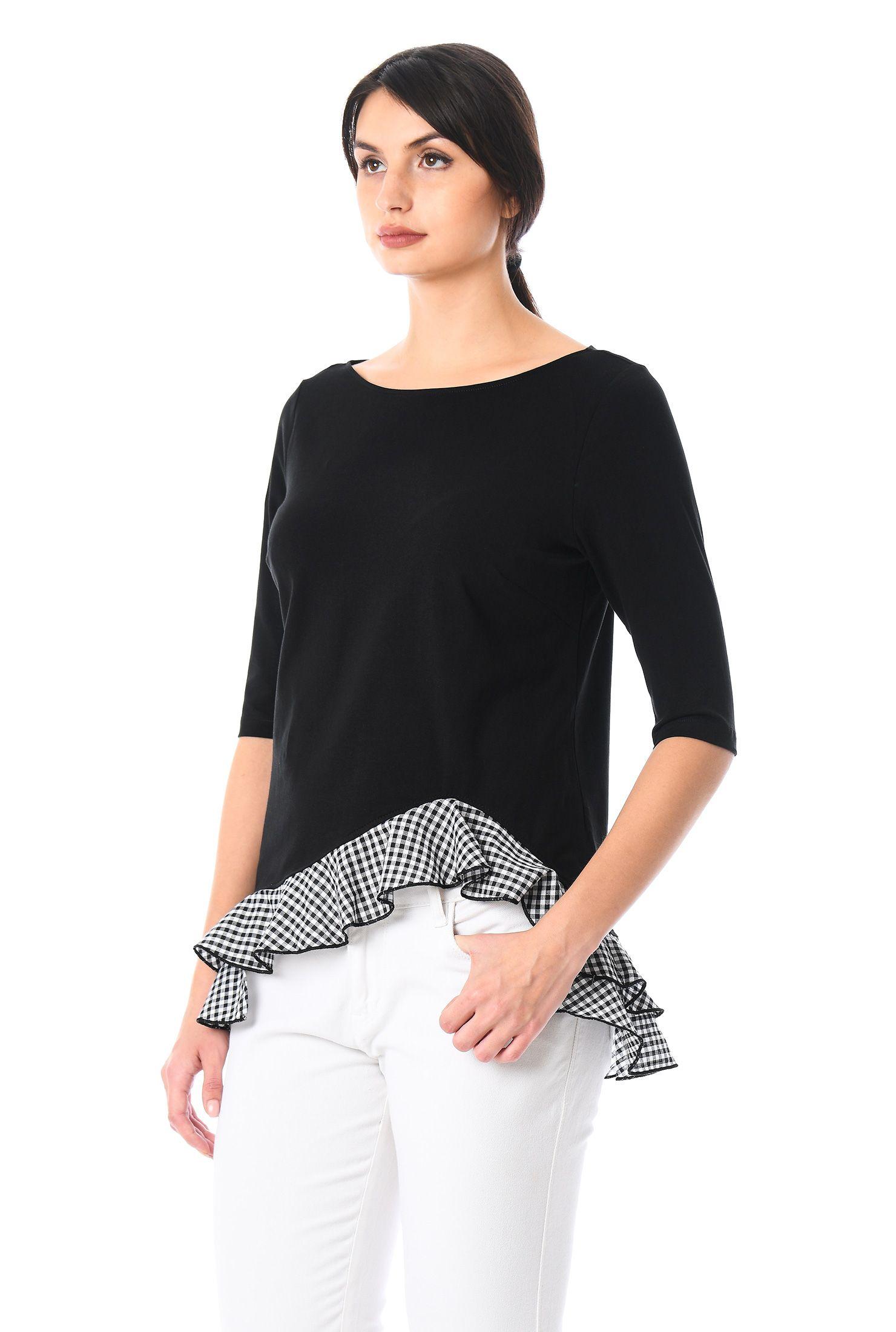 d7853f73a Women's fashion tops, blouses, evening tops, silk blouse, lace tops, cotton