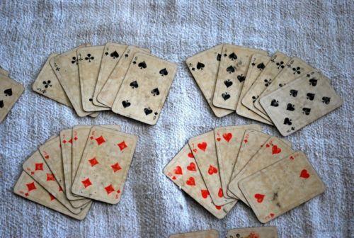 Antique Victorian Cards Ferd Piatnik Sohne A G Wien Playing Cards 1800'S | eBay