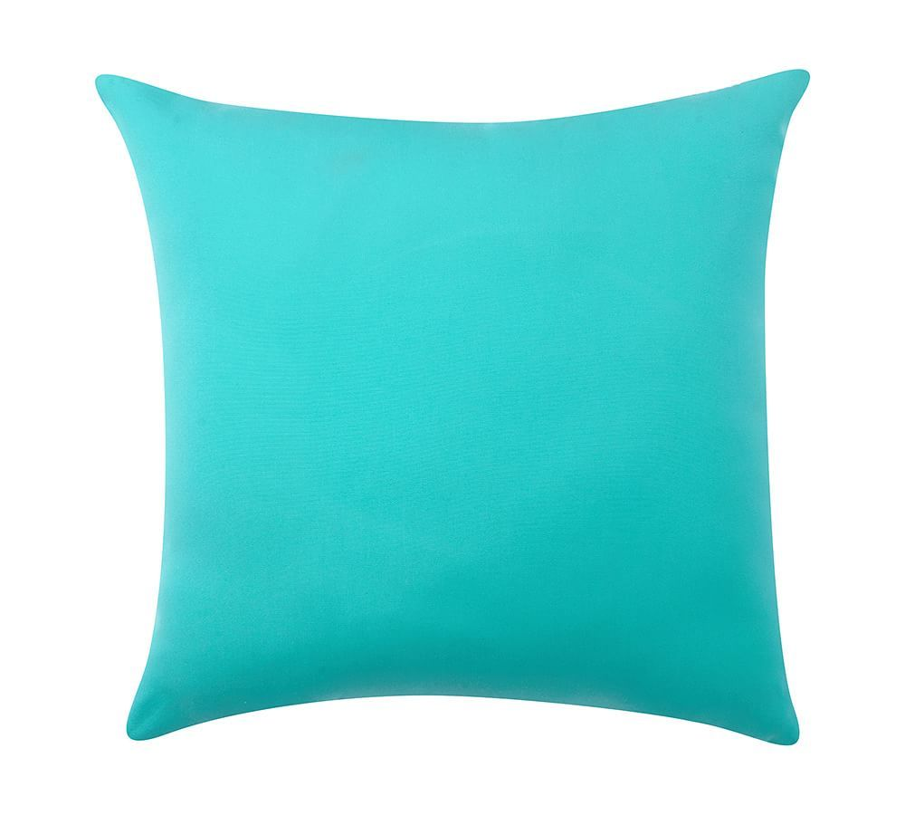 Sunbrella® Solid Indoor/Outdoor Pillow | Pottery Barn | Backyard. At ...