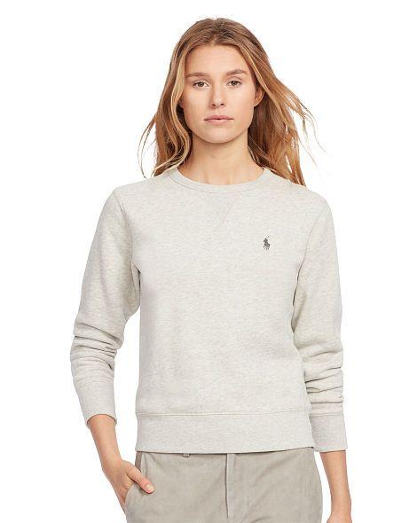 Fleece Crewneck Sweater - Polo Ralph Lauren Long-Sleeve - RalphLauren.com