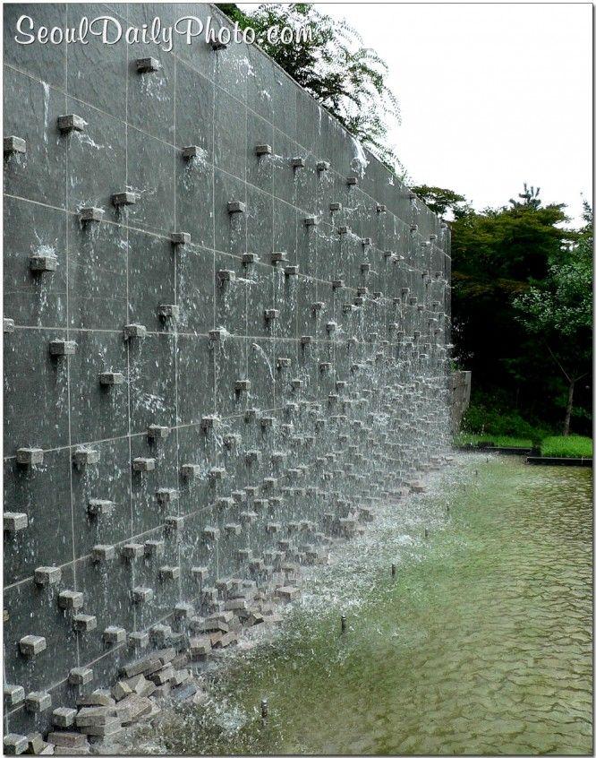 Water wall outdoor yard in 2018 Pinterest Water walls, Water