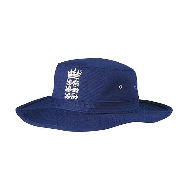 Adidas England Cricket Replica Blue Sun Hat Hats Sun Hats Cricket Store