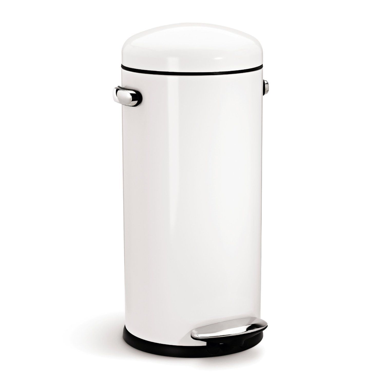 Kitchen Garbage Can Need This Cute Trash Can For My Kitchen Amazon Simplehuman Round