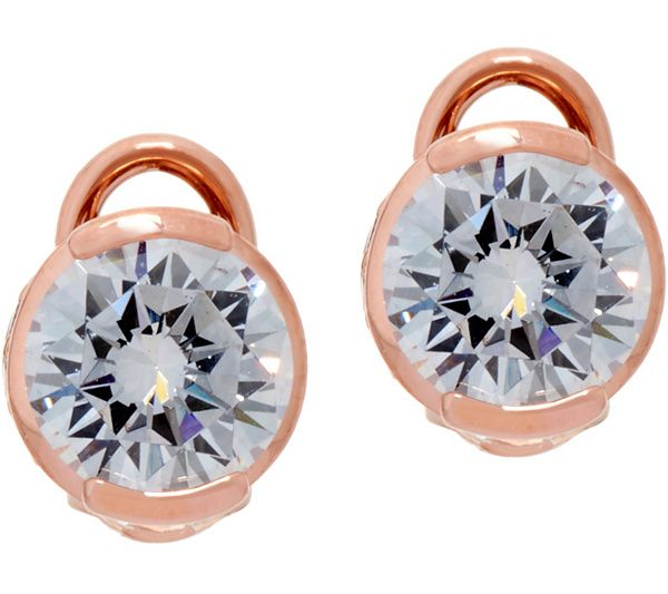 3b0fe8544 Elevate your look to Hollywood glam with this pair of TOVA Diamonique stud  earrings! QVC.com