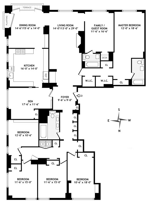 15 East 91st Street 10b New York Ny 10128 Sales Floorplans Property Records Realtyhop In 2020 Floor Plans Property Records Apartment Floor Plans