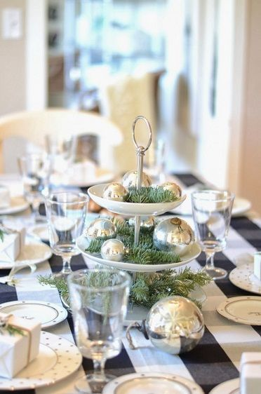 Here are some other ideas for Christmas table top decorations Why - christmas table decorations