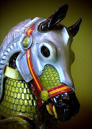 Daniel C. Mueller's Armored Stander Horse by whalemap, via Flickr