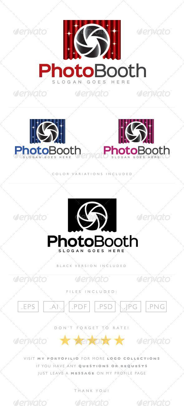 Photo Booth Logo Photo Booth Photography Logos Photo