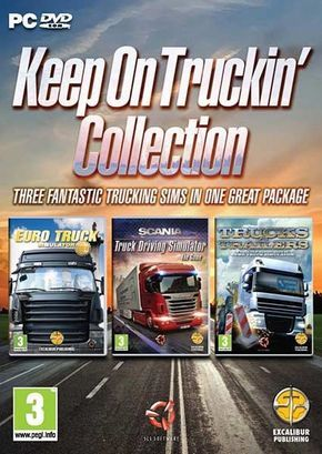 A fantastic collection of Truck Driving Simulators from SCS
