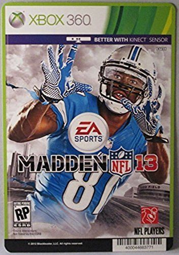 EA SPORTS Madden NFL 13 - XBOX 360 - (Not The Video Game - resume xbox assist