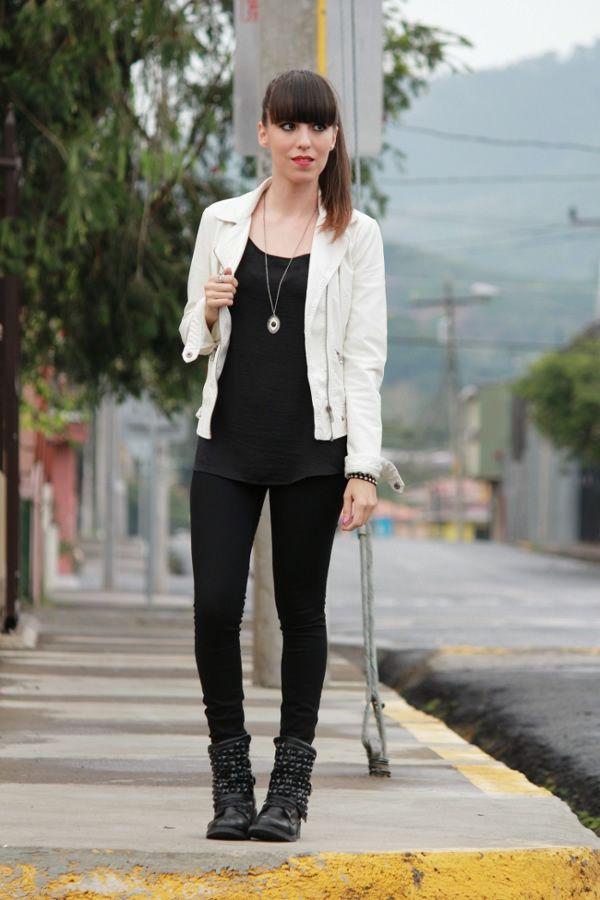 94cc176cbf6ae look-urbano-en-blanco-y-negro-con-botas-y-jacket-estilo-biker ...