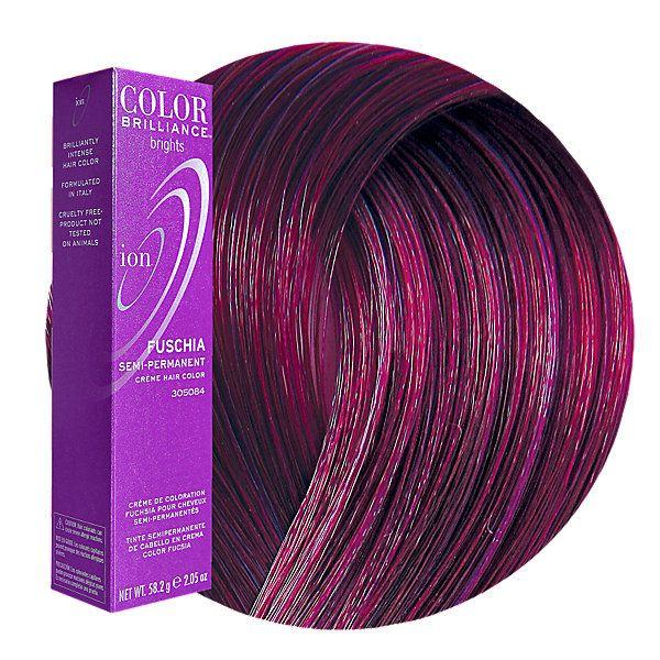 Fuchsia Semi Permanent Hair Color | Fashion hair color ...
