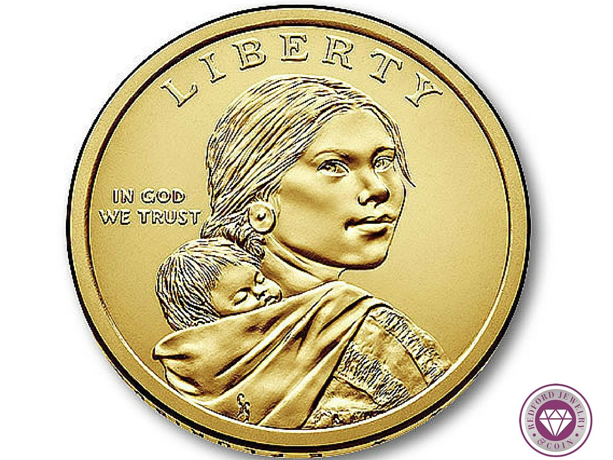 Get this great historical Sacagawea Dollar, honoring the Shoshone ...