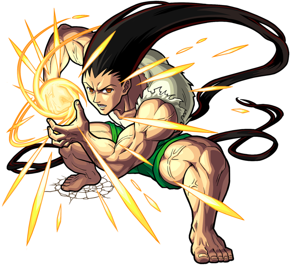 Gon Adult !!! HXH by mada654 on DeviantArt Personagens