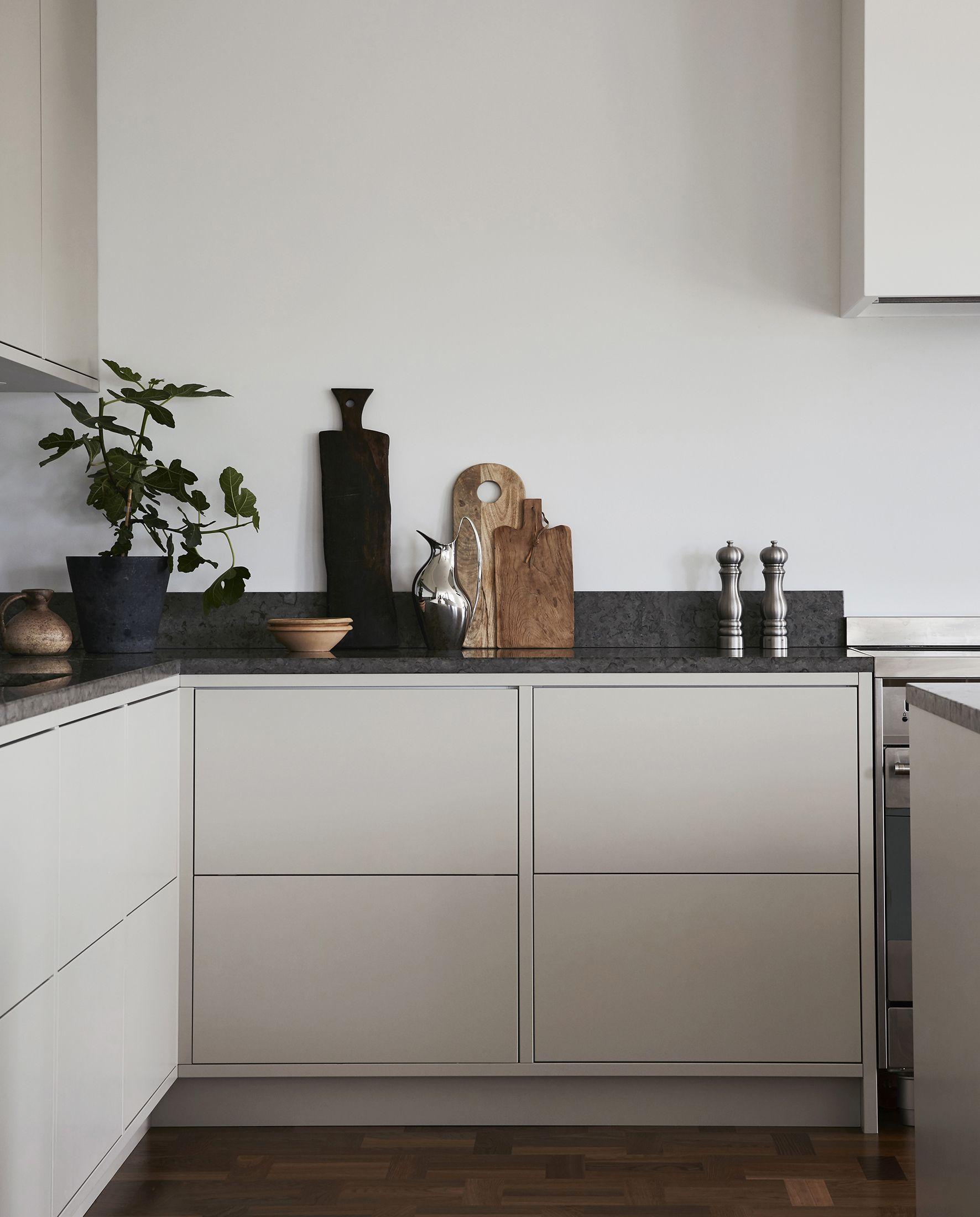 nordiska k k nordic minimalist kitchen with open kitchen island rh pinterest com