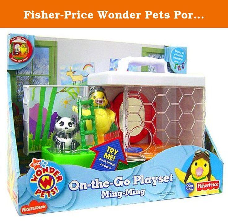 FisherPrice Wonder Pets Portable Playsets Ming Ming. The