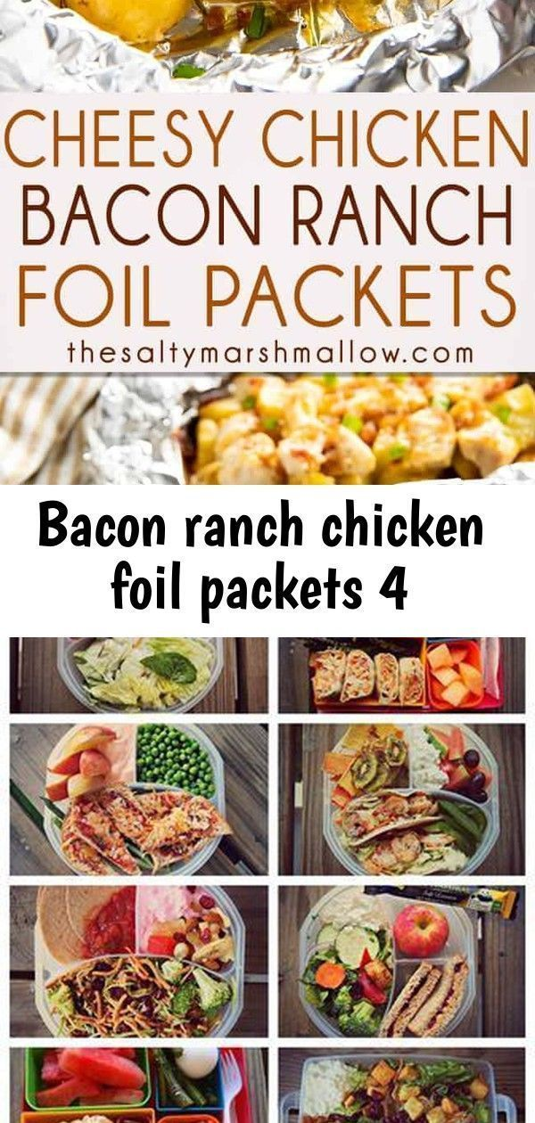 Bacon Ranch Chicken Sachets 4  Recipes    Bacon Ranch Chicken Sachets 4  Recipes    Best F