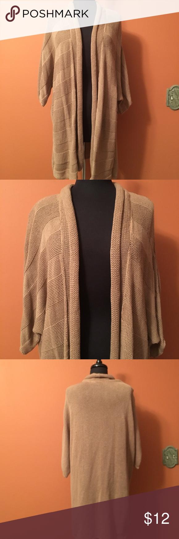 Plus size short sleeve cardigan, size 2X Cute knit oversized ...
