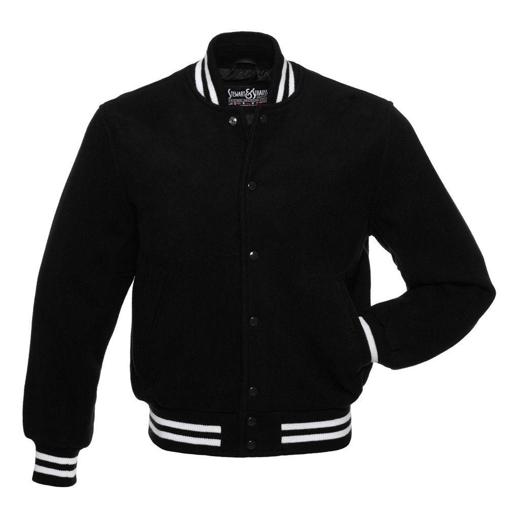 Jacketshop Jacket Black Wool White Wool Letterman Jacket Varsity Letterman Jackets Varsity Jacket Leather Varsity Jackets [ 1001 x 1001 Pixel ]