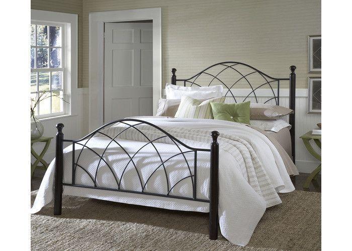 1764-vista-bed-set-queen-w-rails - Free Shipping!