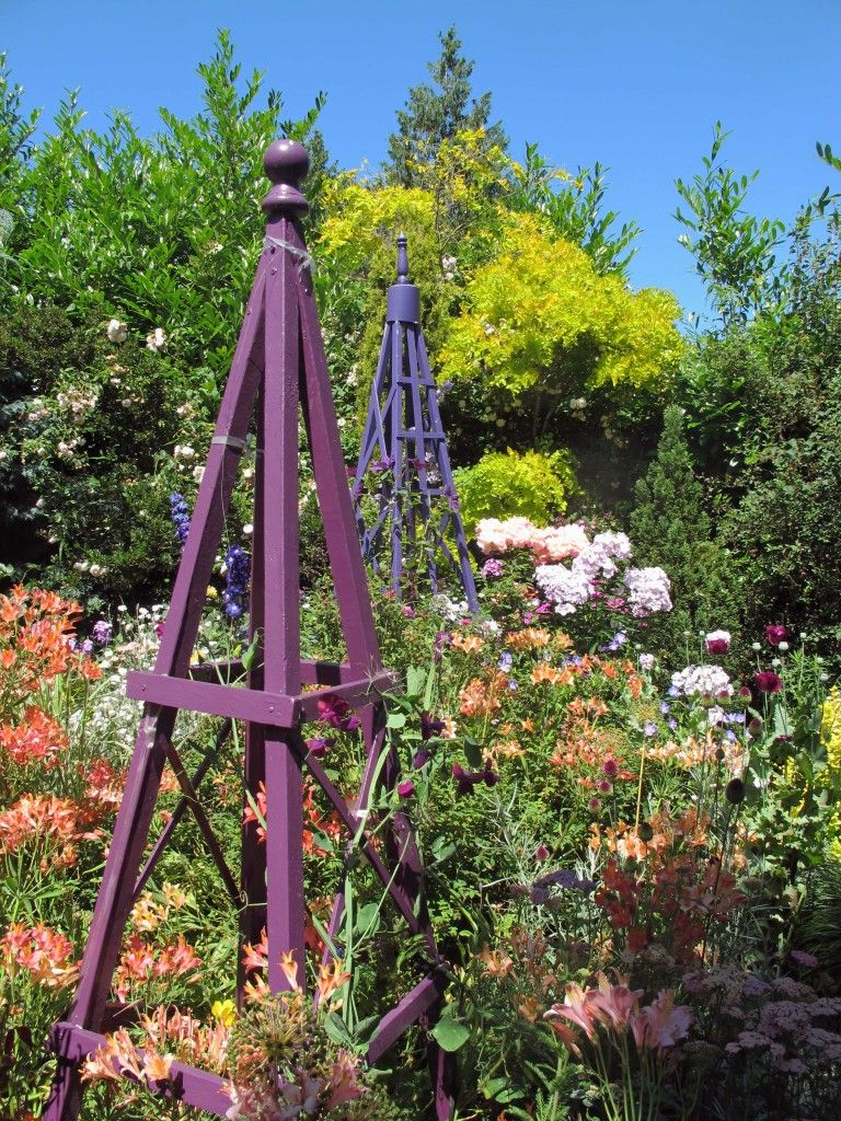 Add structure height color to your garden
