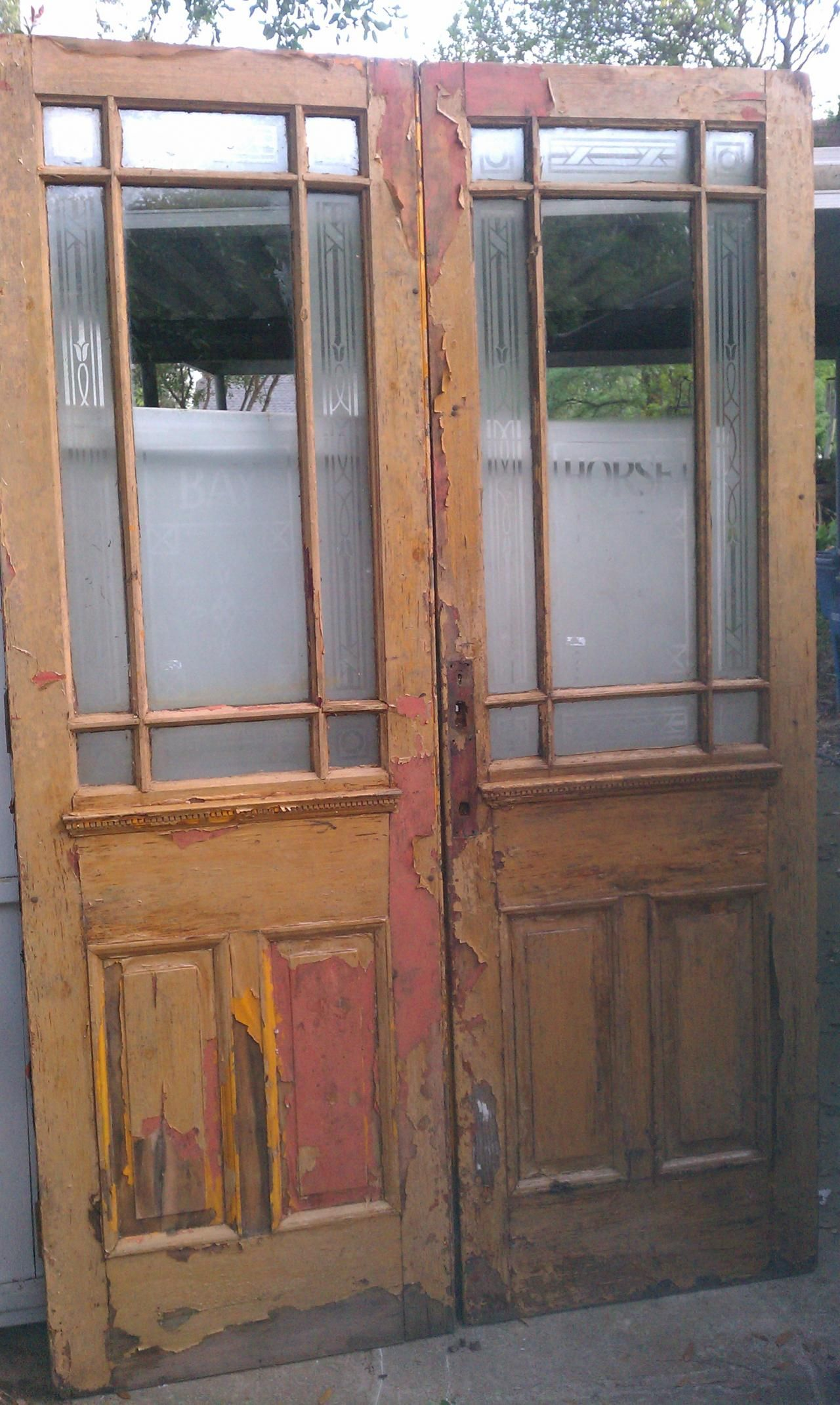 Old Is Better Than New - Antique Architectural Old Wood & Glass Doors from  Texas. - Www.old-sa.com - Reclaimed Used Old Vintage Antique Texas
