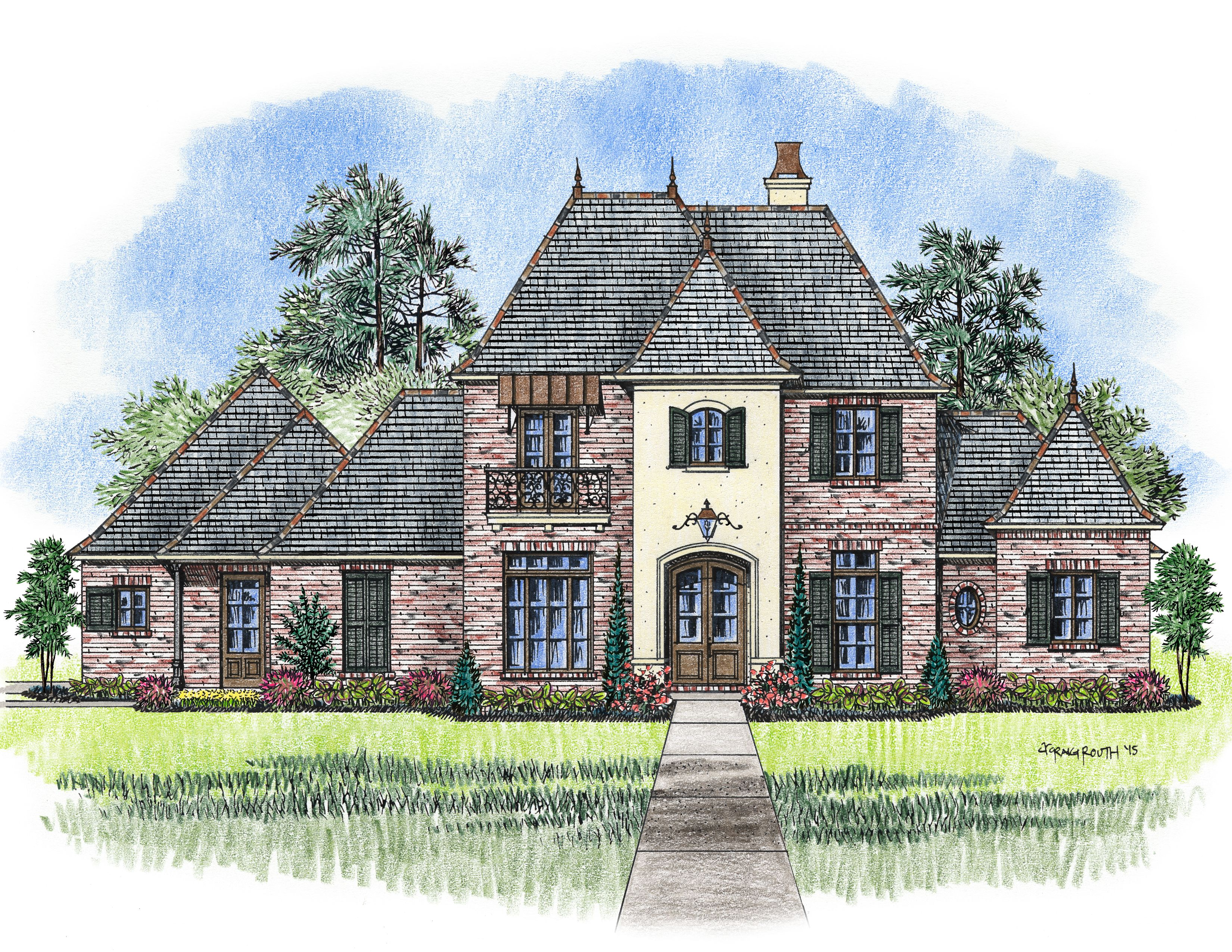 The Orleans house plan Madden Home
