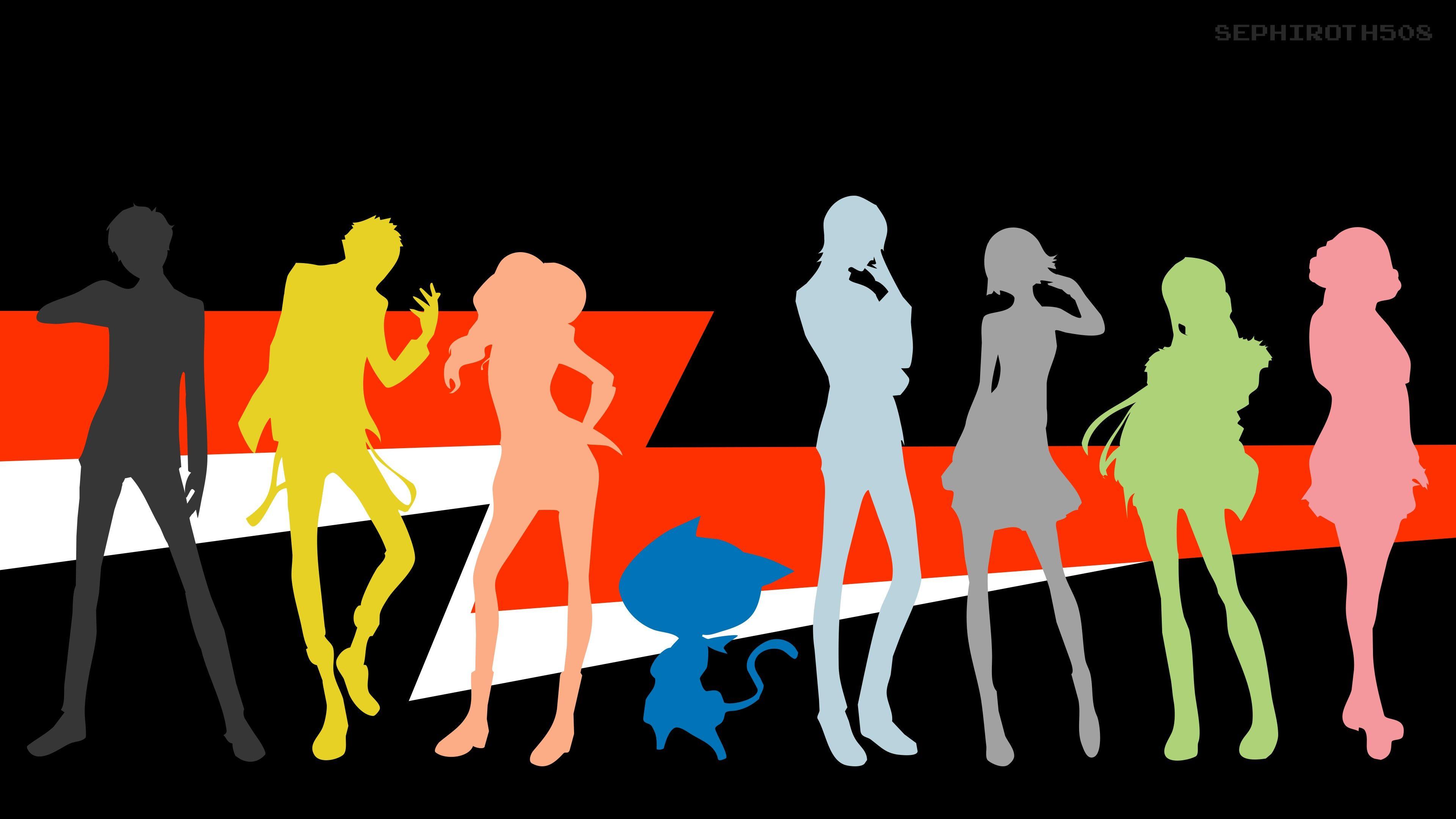 Vertical Persona 5 Wallpaper 3840x2160 Persona 5 Minimalist Wallpaper Character Wallpaper