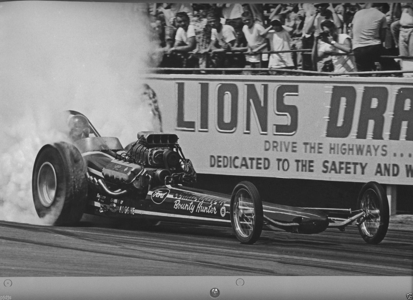 Connie Kalitta and Bounty Hunter at Lions Drag Strip. Connie used ...