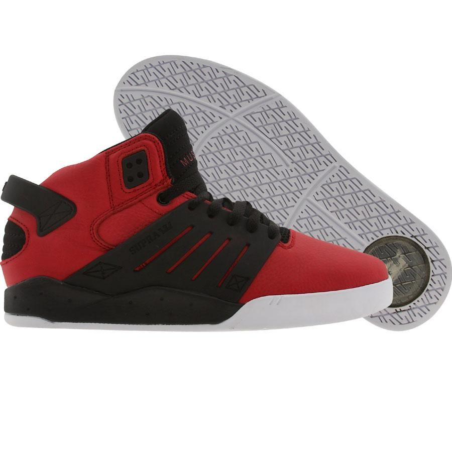 b73d30892a7c Supra Skytop 3 shoes in red and black