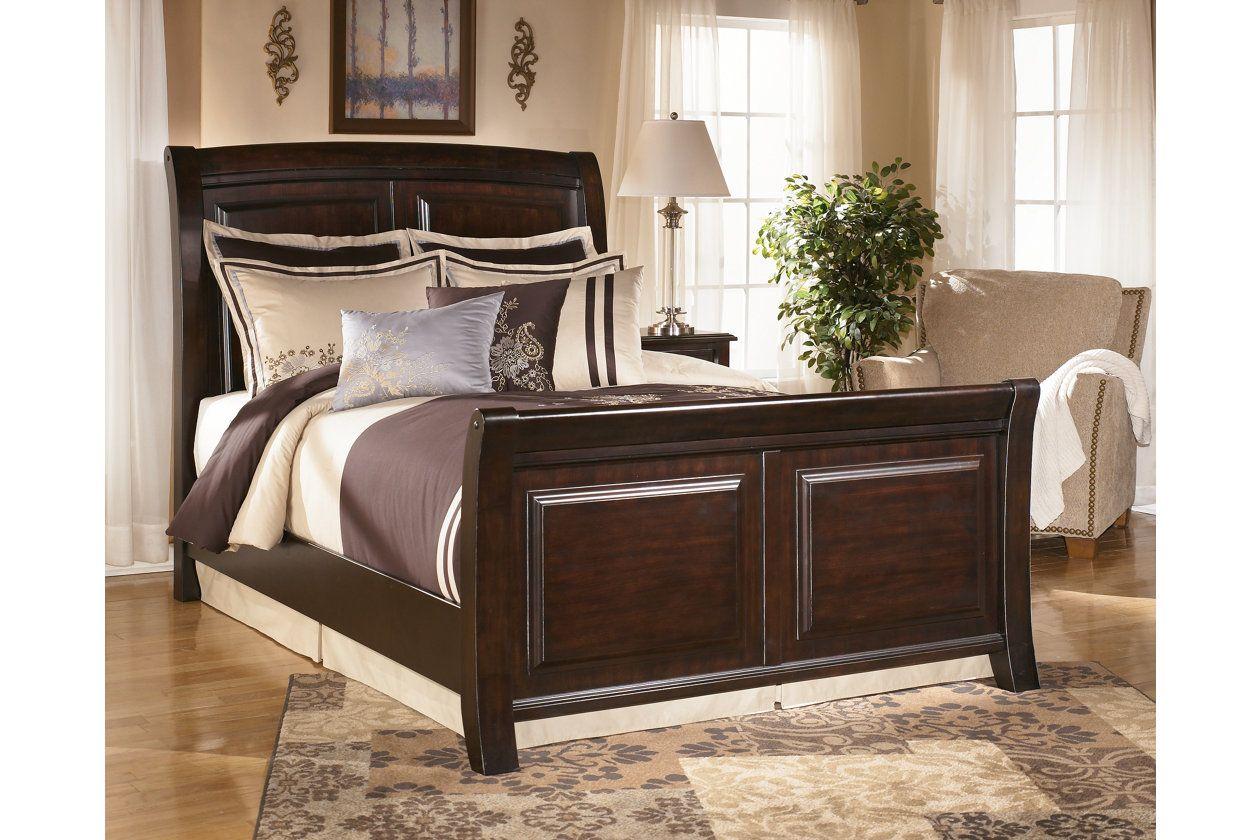 ridgley king sleigh bed ashley furniture homestore for the home rh pinterest com mx