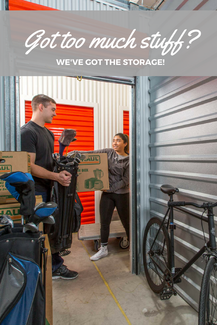 Ordinaire Got Too Much Stuff? Weu0027ve Got A Storage Unit Waiting For You! Click Through  To Find The Right Self Storage Unit For You! U003eu003e