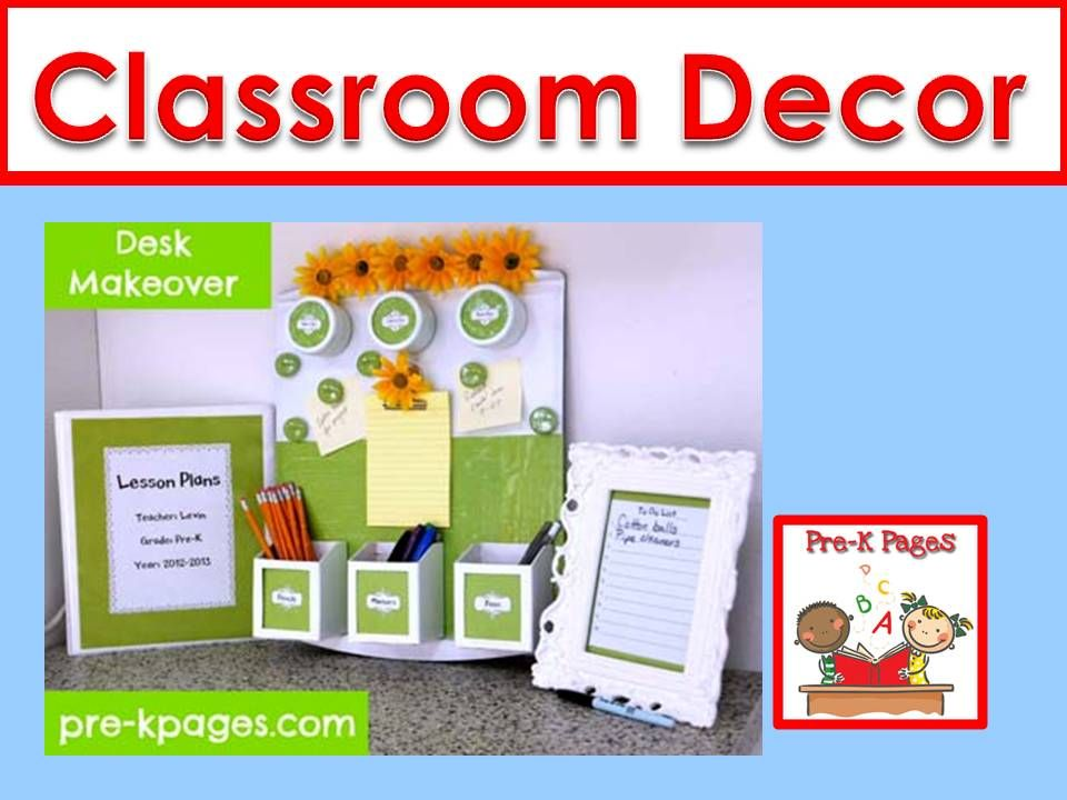 Pre Nursery Classroom Decoration : Ideas and pictures to help you decorate your preschool