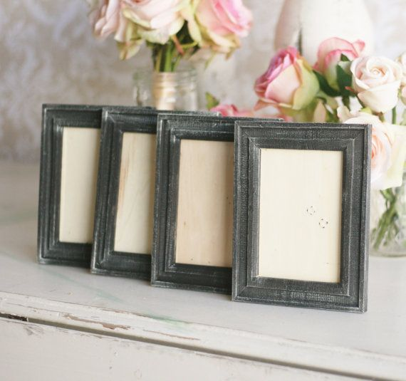 wedding frames shabby chic vintage table numbers set of 6 item rh pinterest com