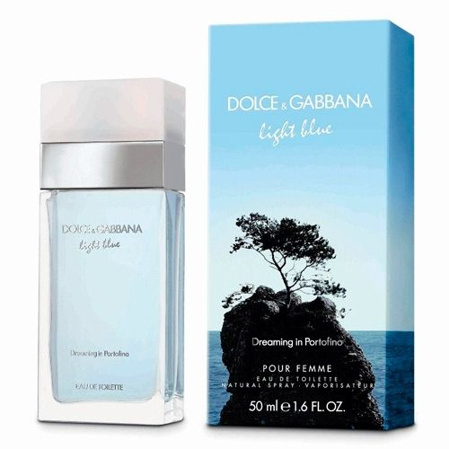Perfume Light Blue Pour Femme Portofino Edt Dolce   Gabbana 50ml  Compras   DutyFree Light 9a94c638fe
