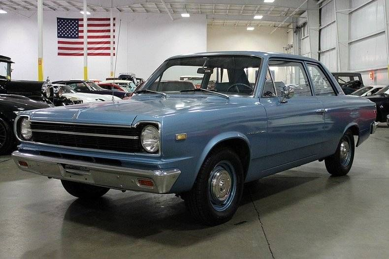1969 Amc Rambler Coupe Straight 6 3 On The Tree Amc Old