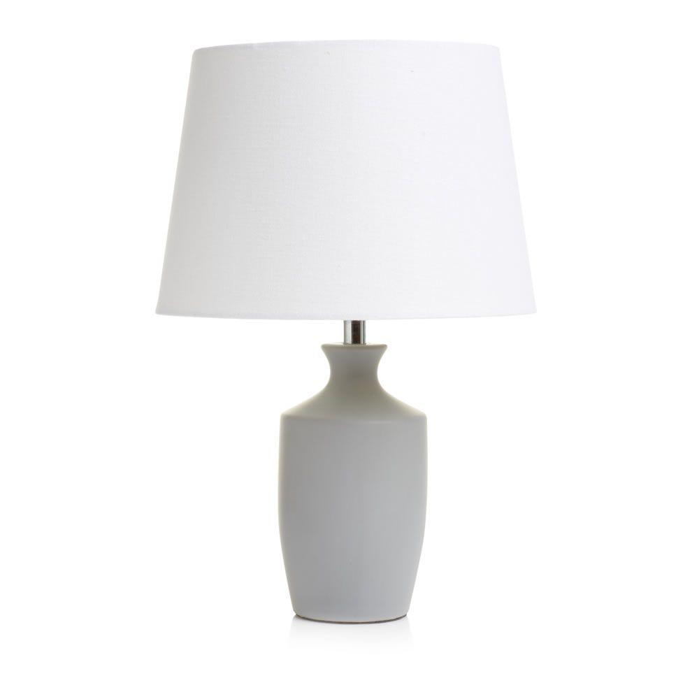 Wilko sophia lamp living rm pinterest gray bedrooms and light wilko sophia table lamp grey aloadofball Gallery