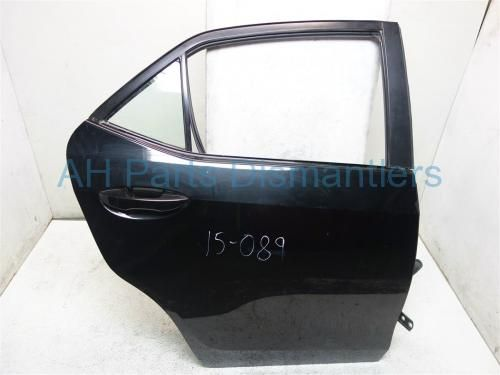 Used 2015 Toyota Corolla Rear Passenger Door Black Complet W O Trim Does Not Come With Inner Trim Panel Inner Panel Structure Toyota Corolla 2015 Toyota Toyota